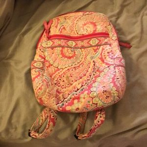 Vera Bradley small travel backpack